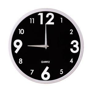 """12"""" Wall Clock   Black"""